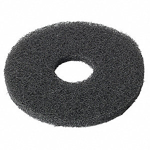 Black Buffing Pad,10 in. dia.