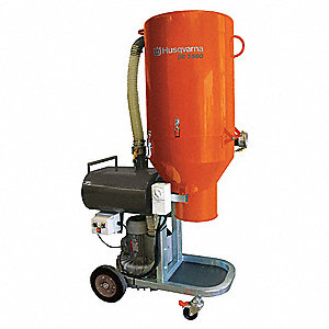 husqvarna concrete grinder vacuum, 7.4 hp, 480 v - 18g405|dc 5500