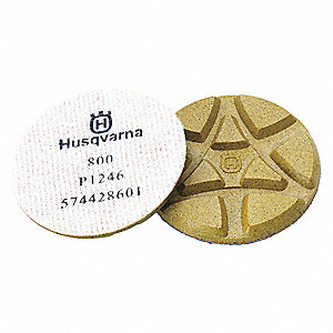 Polishing Pads, 800 Grit, 5 In