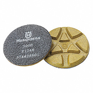Polishing Pads,  3000 Grit,  5 In