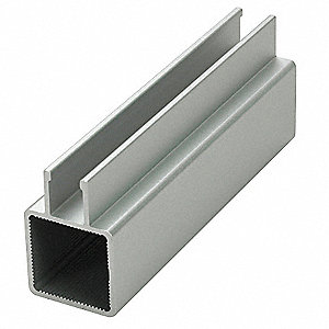 Extrusion,Flanged,Boltless,Length 145 In