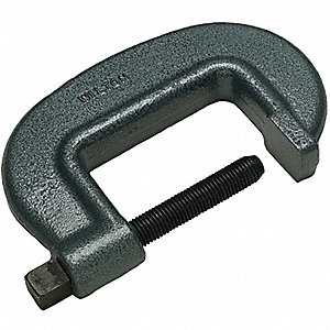 C-CLAMP,BRIDGE,8-1/2 IN,3-5/8 DEEP,