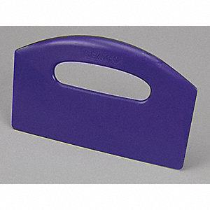 Bench Scraper,8-1/2 x 5 In,Purple