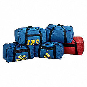 GEAR BAG,HAZMAT,24X13X14,BLUE