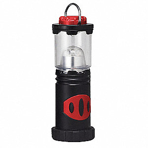 LanternLED, Plastic, Maximum Lumens Output: 25, Black, 1.50""