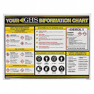 GHS INFORMATION WALL CHART 18 X 24