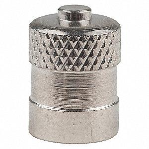 METAL DOME VALVE CAP,PK 100