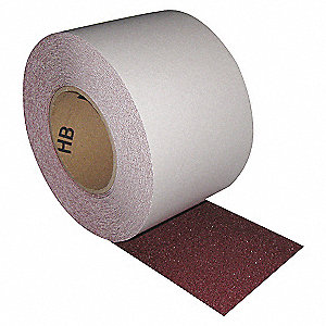 NON SKID TAPE,60 FT X 4 IN,BROWN