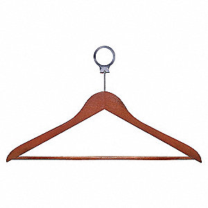 SECURITY HANGERS,CHERRY,PK 24