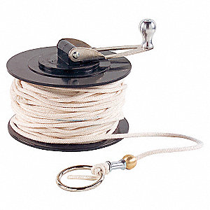 CHALK LINE,W/HANDLE,WHT,150 FT,FOR