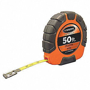 MEASURING TAPE,50 FT/15M,FT./IN./8T