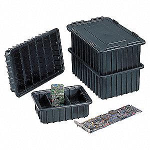 BOX DIVIDER,BLACK,17X11X22