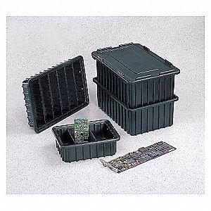 BOX DIVIDER,BLACK,17X12X22