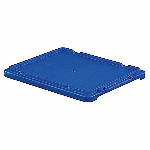 CONTAINER COVER,21X17,BLUE,FOR 6UFY