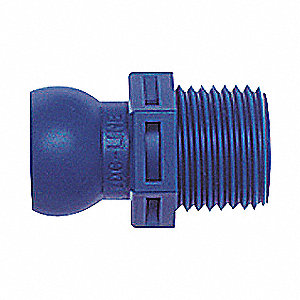 BSPT CONNECTOR,1/2 IN,PK 4