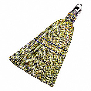WHISK BROOM,10 IN. OAL,100P CORN FI