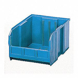 STACK/HANG BIN,18L X 11W,BLUE