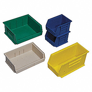 STACK + HANG BIN,5-3/8L X 4-1/8W,BE