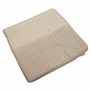 THERMAL BLANKET TWIN 66X90IN BEIGE