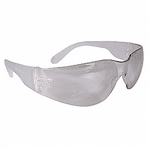 SAFETY GLASSES,CLEAR,ANTFG,SCRTCH-R