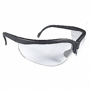 SAFETY GLASSES,CLEAR,ANTFG,SCRTCH-R