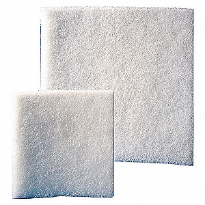 REPLACEMENT FAN FILTER MAT, 15 CFM,