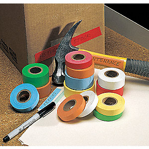 PAPER TAPE,14 YD.,RED