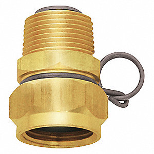SWIVEL HOSE ADAPTER,3/4 IN, BRASS