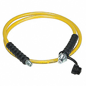 10 Ft. Thermoplastic High Pressure Hydraulic Hose Assembly