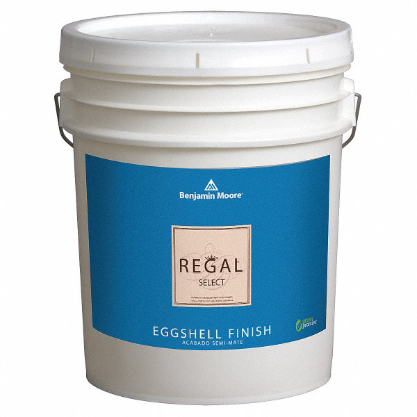 benjamin moore interior paint eggshell 5 gal linen whit 10u386. Black Bedroom Furniture Sets. Home Design Ideas