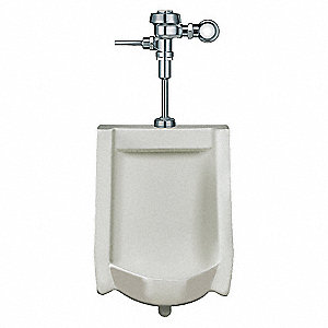 URINAL,WASHOUT,1/8 GALLON,FLUSHOMET