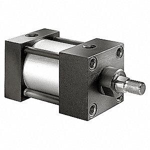 AIR CYLINDER,2 1/2 IN BORE,8 IN STR