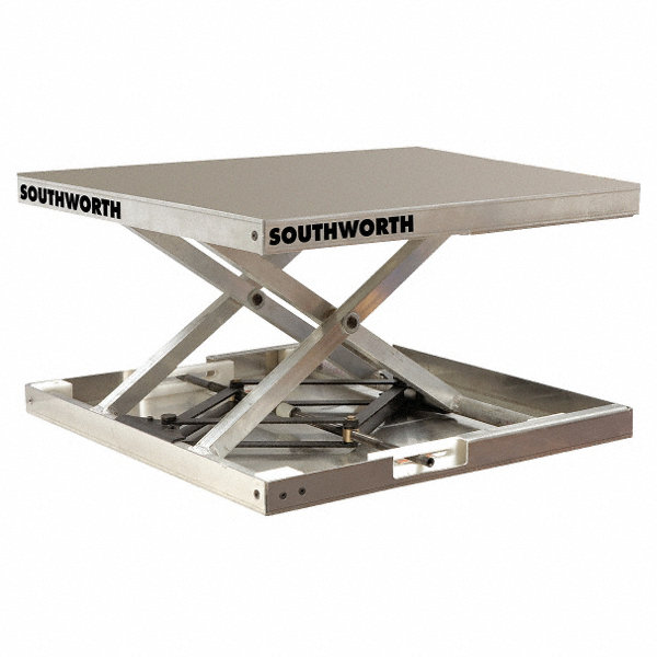 Southworth Stationary Manual Lift Scissor Lift Table 300
