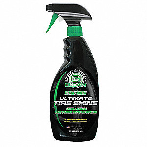 Biodegradable Tire Shine,22 Oz