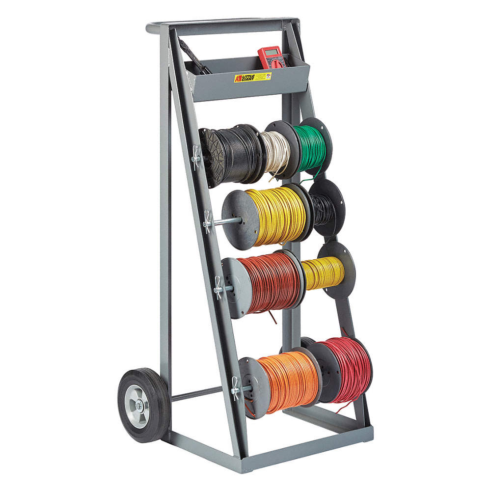 GRAINGER APPROVED Wire Reel Caddy,4 Spindles,45x24x22 - 19C204|RT4 ...