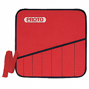 Red Tool Pouch, Canvas