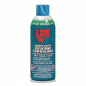 Lubricant, -40°F to 392 Degrees F, Silicone, 16 oz. Aerosol Can