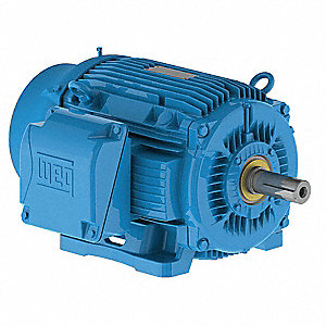 20 HP General Purpose Motor,3-Phase,1765 Nameplate RPM,Voltage 460,Frame 256T
