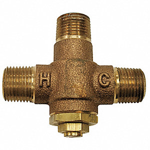 Mixing Valve For Use With Wash Fountains