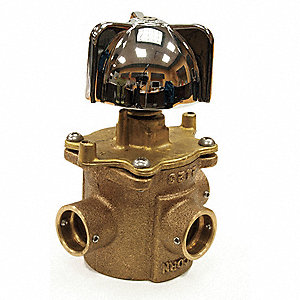 Safti-Trol Valve Assembly For Use With Wash Fountains