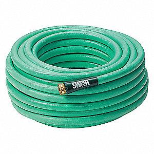WATER HOSE,RUBR/PVC,5/8 IN ID,100 F