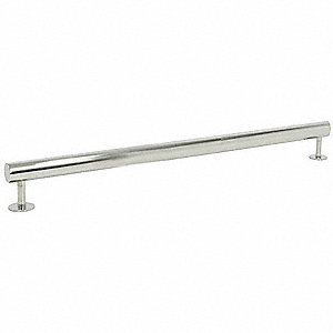 "42"" Contemporary Stainless Steel Grab Bar, Silver"