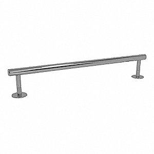 "18""L Satin Nickel Stainless Steel Towel Bar, Modern Elegance Collection"