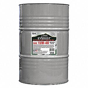 Everest diesel motor oil sae 15w 40 55 gal 19d161 for 55 gallon motor oil prices