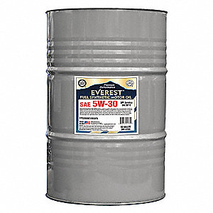 Synthetic Motor Oil,SAE 5W-30,55 Gal.