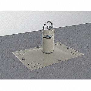 Roof Anchor Post,15-1/4 In. W,22 In. L