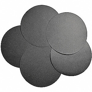 "12"" Abrasive Paper Disc, 800-2400 Grit, Ultra Fine, Coated, No Hole, Silicon Carbide, Abrasive"