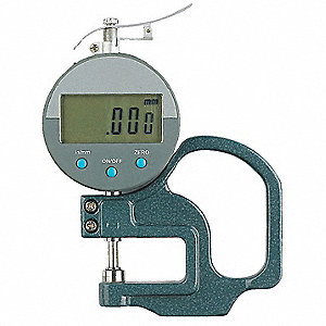 Digital Thickness Gage,0-10mm