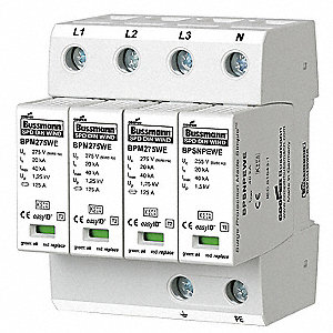 3 Phase Surge Protection Device, 230/400VAC