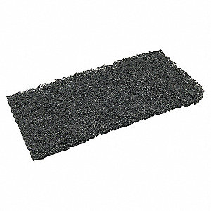 EXTRA HEAVY DUTY PAD,BLACK,10LX4INW